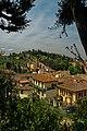 Firenze - Florence - Viale Giuseppe Poggi - View West on City Wall & Giardino Bardini.jpg