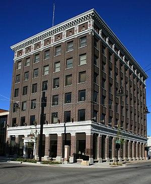 First National Bank of Mason City - Image: First National Bank