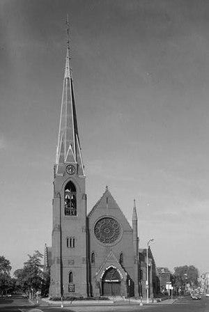 First Baptist Church (Cambridge, Massachusetts) - First Baptist Church in 1967