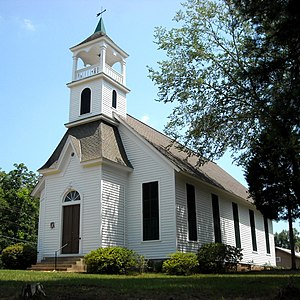 National Register of Historic Places listings in Perry County, Alabama - Image: First Congregational Church at Marion