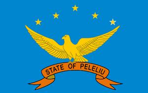 Peleliu - Image: Flag of Peleliu State