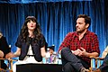 Flickr - Genevieve719 - Zooey Deschanel, Jake Johnson (8).jpg
