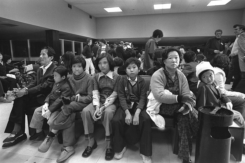 File:Flickr - Government Press Office (GPO) - Vietnamese family part of 100 refugees from the Tung-an.jpg