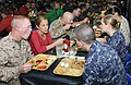 Flickr - Official U.S. Navy Imagery - Members of the House Armed Services Committee eat lunch with Sailors..jpg