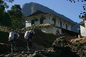 Sherpas in Nepal