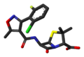 Flucloxacillin-from-xtal-1980-3D-sticks-noH.png