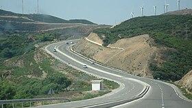 Rocade méditerranéenne Maroc 280px-Fnideq-med