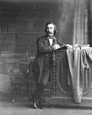 John Henry Foley - John Henry Foley in 1863, by Ernest Edwards.