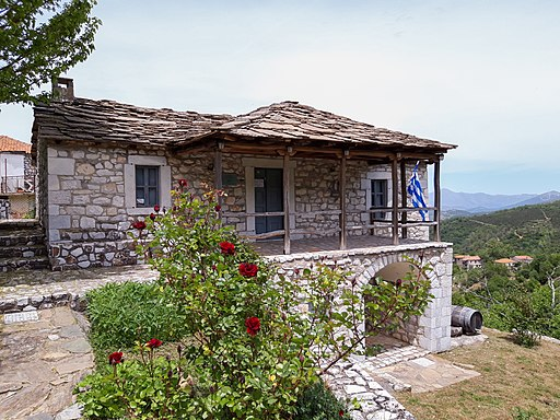 Folklore museum of Doliana-Building