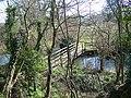 Footbridge, Durnford Mill - geograph.org.uk - 757116.jpg