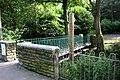 Footbridge across Butts Beck, Barnoldswick - geograph.org.uk - 494957.jpg