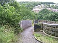 Footbridge over Railway Line - Mansion Lane - geograph.org.uk - 1389303.jpg