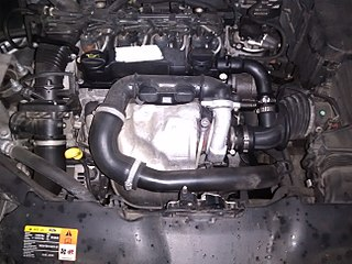Ford DLD engine Motor vehicle engine
