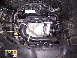 Ford DLD engine - Image: Ford 1.6 tdci 90 cv 2009 DLD 415