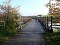 Former railway bridge at Fremington Pill - geograph.org.uk - 1595890.jpg