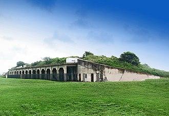 Fort Crockett - Fort Travis on Bolivar Peninsula