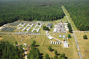 Fort A.P. Hil during 2010 Boy Scout Jamboree