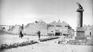 Operation Brevity - Fort Capuzzo, the focal point of much of the day's fighting.