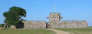 83rd Regiment of Foot (Royal Glasgow Volunteers) - Fort Henry in Grouville, Jersey