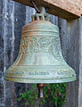 Fort Ross, Bell in front of the Orthodox Church.jpg
