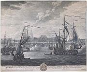 Fort William, Calcutta, 1735