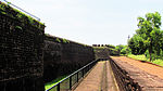 Fortification wall of Auguda Fortress 1 ( Lower )