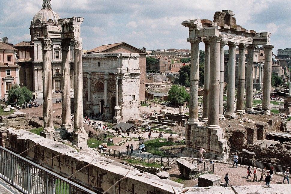 Forum Romanum April 05