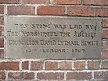 Foundation stone in Walls Avenue ^2 - geograph.org.uk - 1164695.jpg