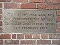 Foundation stone in Walls Avenue ^2 - geograph.org.uk - 1164695.jpg