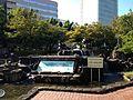 Fountain in Los Angeles Square of Hisaya-Odori Park 2.JPG