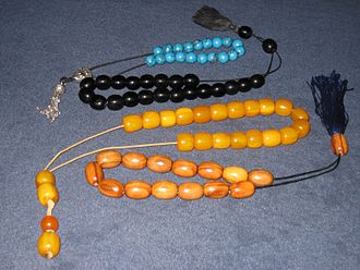 Worry beads - Worry beads made from different materials
