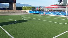 Fox Sports studio in Vancouver for 2015 FIFA Women's World Cup (19469661016).jpg
