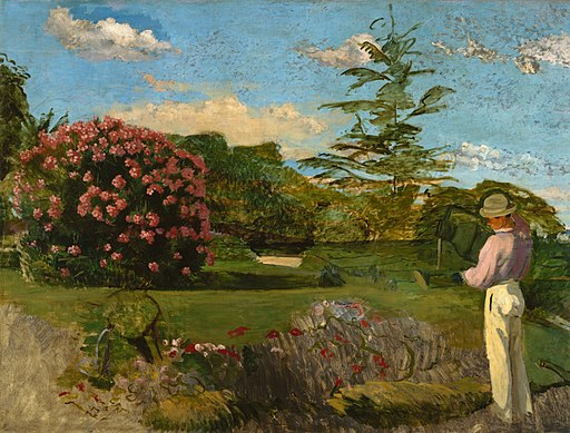 Frédéric Bazille - The Little Gardener - 76.236 - Museum of Fine Arts
