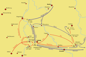 Battle of Luckau - Image: Frühjahrsfeldzug 1813