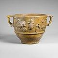 Fragmentary terracotta scyphus (drinking cup) MET DP107685.jpg