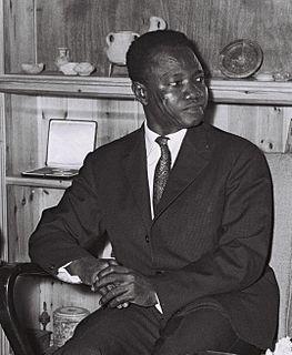 François Tombalbaye President of Chad