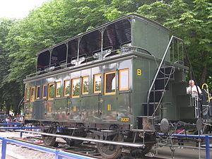 Bilevel rail car - Voiture à impériale