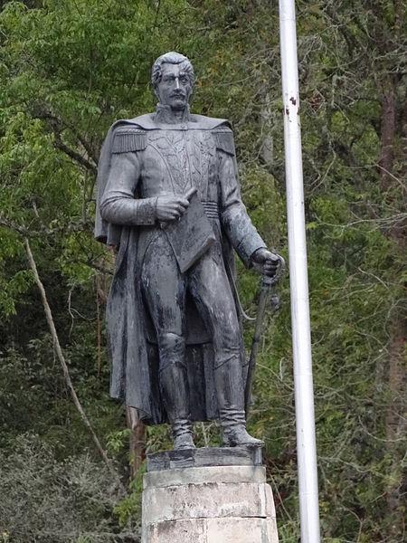 File:Francisco de Paula Santander Puente de Boyacá.JPG