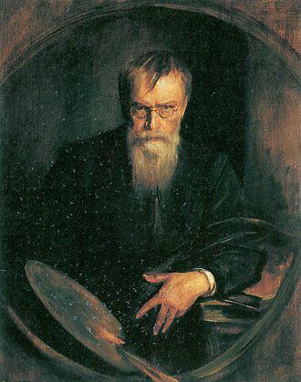 Franz von Lenbach - Self-portrait (1903)