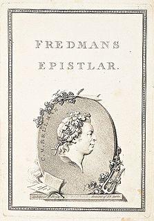 <i>Fredmans epistlar</i> book by Carl Michael Bellman