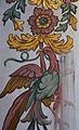 Fresc amb ocell de l'església de santa Úrsula, València.JPG