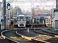 Fuchu-keiba-seimon-mae-eki.2train keio.keibajyo.line.jpg