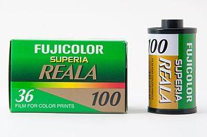 Fujifilm Superia - Image: Fujifilm Superia Reala 100 35mm