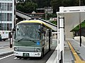 Fujikyu Yamanashi Bus F1571 at Uenohara Station 01.jpg