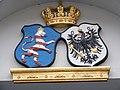Fulda - Friedrichstraße 13, Wappen über dem Eingang.JPG