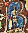 Géza II (Chronicon Pictum 117).jpg