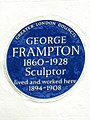 GEORGE FRAMPTON 1860-1928 Sculptor lived and worked here 1894-1908.jpg