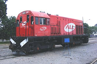 GE Universal Series - Image: GE U5B ALL 2087