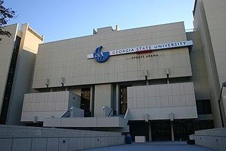 GSU Sports Arena - Image: GSU Sports Arena Exterior