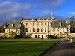 Gordonstoun - Gordonstoun House as seen from the South Lawn